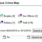 University Crime Map