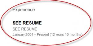 See Resume